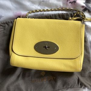 Small Mulberry bag on chain